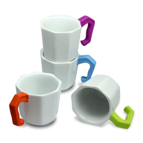 DCI Espresso Cup Set 4-piece set Tini Tazza designed by Zo-Loft