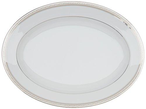 Noritake Crestwood Platinum 16-Inch Oval Platter