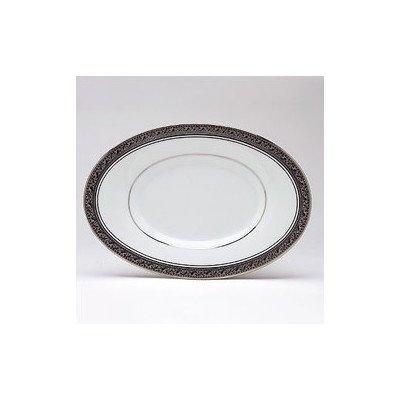 Noritake Crestwood Platinum ButterRelish Tray