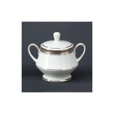 Noritake Crestwood Platinum Sugar Bowl with Cover