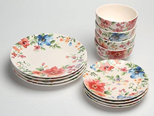 12-Piece Earthenware Dinnerware Set