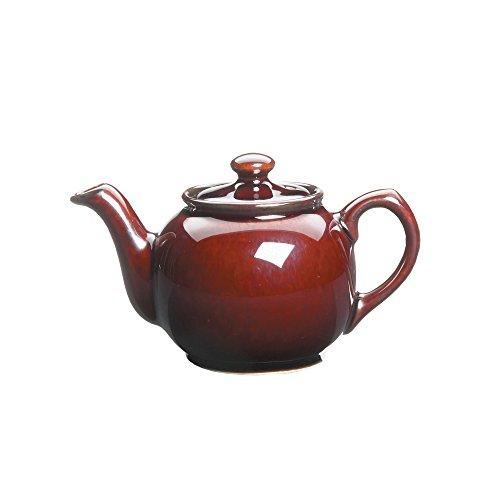 Fox Run 39844 Earthenware Teapot 14-Ounce Brown