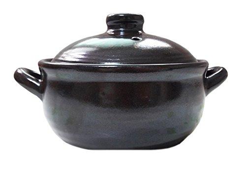 Korean Traditional Earthenware Hot Pot for Dolsot Bibimbap Stew Soup Boiled Dishes