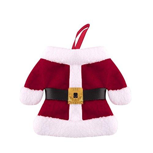 Axier Santa Claus Christmas Cutlery Holder Bags Fork Spoon Pockets Christmas Decor
