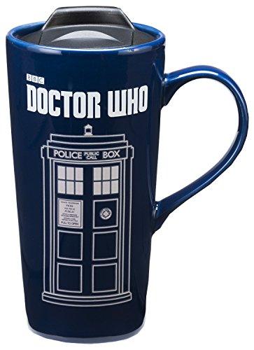 Doctor Who 20 Oz Heat Reactive Ceramic Travel Mug