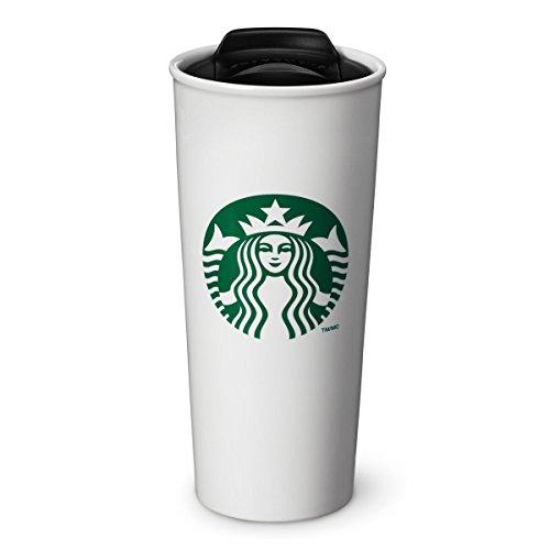 Starbucks Double Wall Ceramic Traveler Coffee Mug 16 fl oz