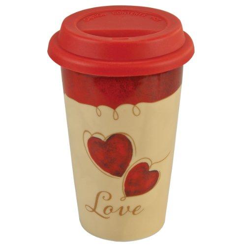 Valentines Ceramic Travel Mug - 1 Corninthians 138
