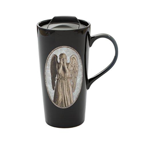 Vandor Doctor Who Weeping Angel Heat Reactive Ceramic Travel Mug 54812