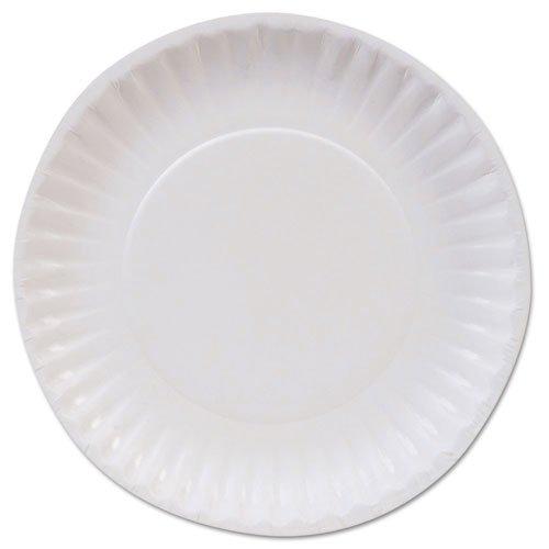 Dixie Basic Paper Dinnerware Plates White 6 Diameter - Includes 1000 per case