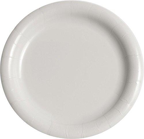 SOLO MWP9B-2054 Medium-Weight Paper Dinnerware 9 Diameter White Case of 500