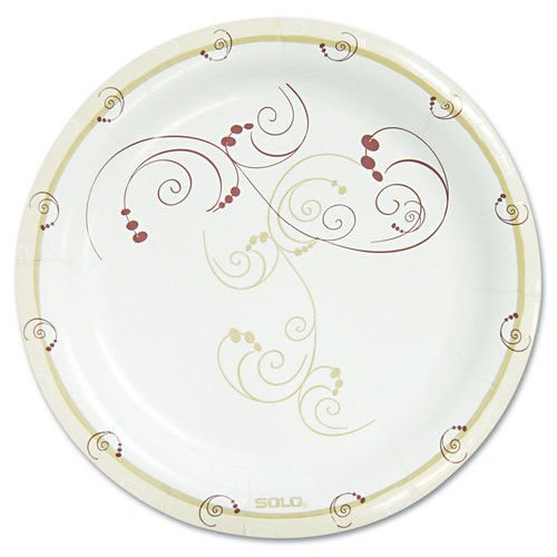 Solo MP9-J8001 Symphony Paper Dinnerware 8 12 Mediumweight Plate Tan Case of 500