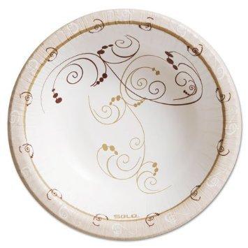Symphony Paper Dinnerware Heavyweight Bowl 12oz Tan 125Pack