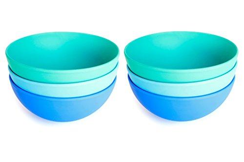 Aquaterra Living Ecofriendly Cereal Bowl Set- Set of 6 5 x 61 bowls