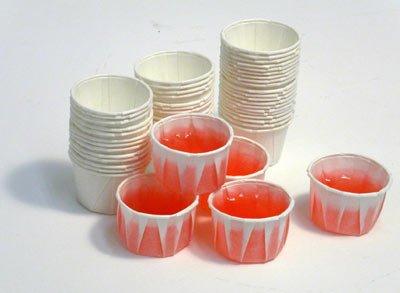 Paper Jello Shot Cups - 250 per box