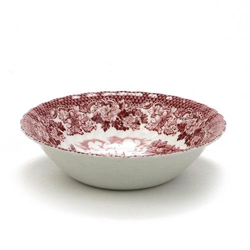 Merrie Olde England Pink by British Anchor Ironstone Coupe Soup Bowl
