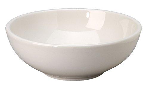 Vertex China VRE-81 Vista PastaSalad Bowl 8-12 48 oz Bone White Pack of 12
