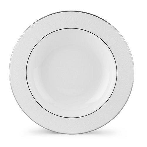 Lenox Hannah Platinum Bone China Pasta BowlRim Soup