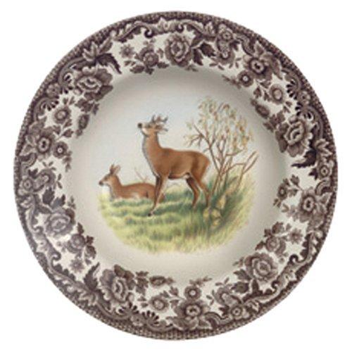 Spode Woodland American Wildlife Deer Soup Plate