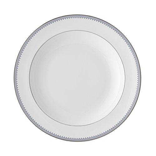 Wedgwood Grosgrain Indigo Rim Soup Plate 9 Multicolor
