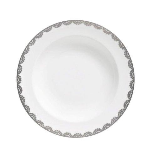 Wedgwood Vera Wang Vera Flirt 9-Inch Rim Soup Plate