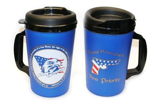 20 Oz Thermoserv Foam Insulated Coffee Mug - Second Amendment