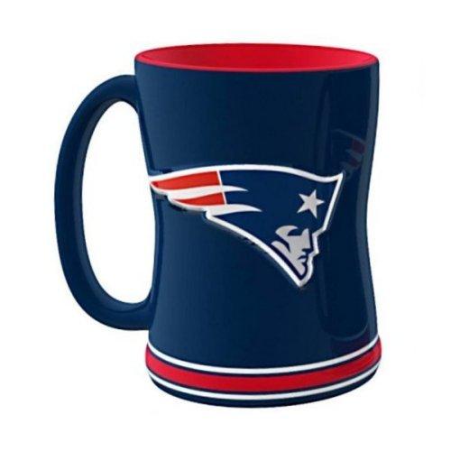 2015 NFL Football Coffee Mug - 14 ounce Ceramic Coffee Cup Patriots