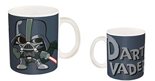 Star Wars Darth Vader Grey 115 oz Ceramic Coffee Cup Mug