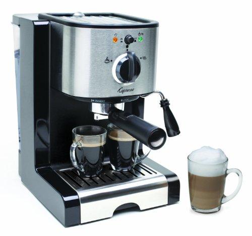Capresso EC100 Semi Automatic Pump Espresso and Cappuccino Machine Certified Refurbished