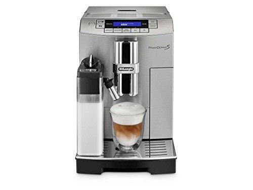 DeLonghi ECAM28465MB Prima Donna Super Fully Automatic Espresso and Cappuccino Machine Silver-Black