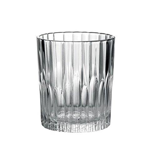 Duralex Made In France Manhattan Glass Tumbler Set of 6 775 oz Clear