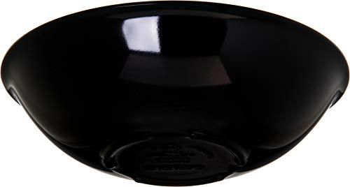 Carlisle 500B03 Melamine Salad Bowl 8-oz Capacity 543 Diameter x 2 Height Black Case of 72