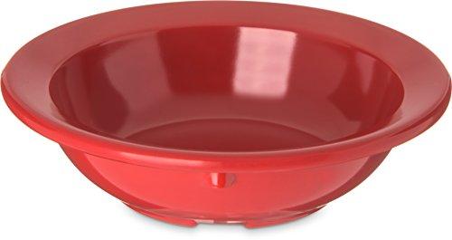Carlisle 4353205 Fruit Bowls Set of 48 3-12-Ounce Melamine Red