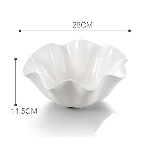 Melamine Fruit BowlCreativeDrawing-room BowlsEuropean Dried FruitHousehold Fruit Bowl-A