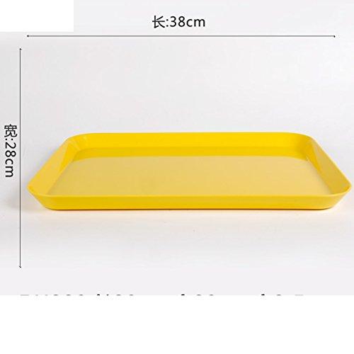 Melamine Fruit BowlCup TrayOblong Fruit PlateLiving Room Snack Plate-F
