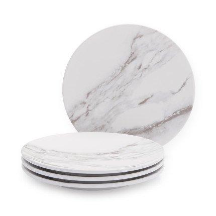 Sur La Table Marble Melamine Appetizer Plates Set of 4