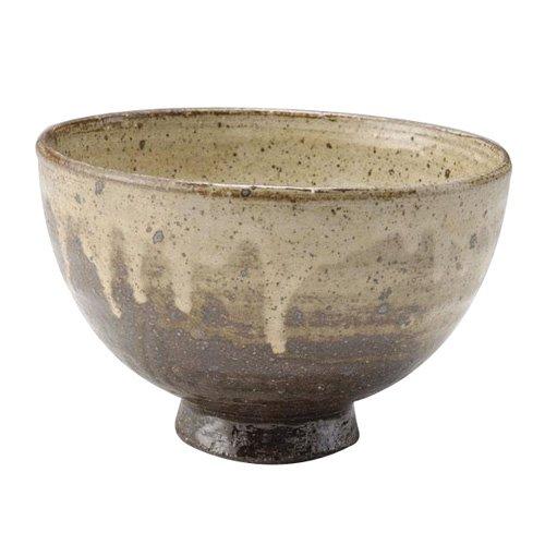 Shigaraki Pottery Kohaku Donburi Bowl Dia 150mm G5-3001