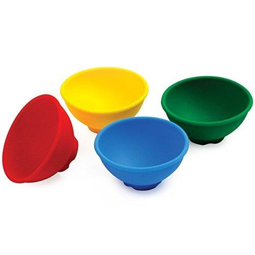 Norpro Silicone Mini Pinch Bowls Set of 4
