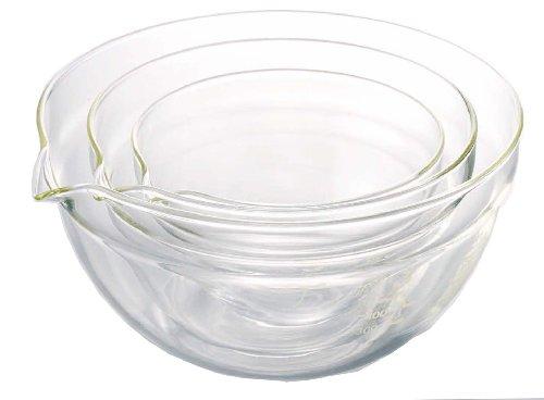 Hario Katakuti 3-Piece Mixing Bowl Set 300ml 570ml 960ml