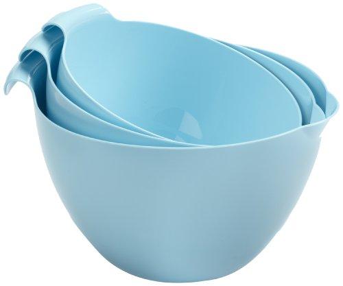 Linden Sweden 3-Piece Mixing Bowl Set Light Blue