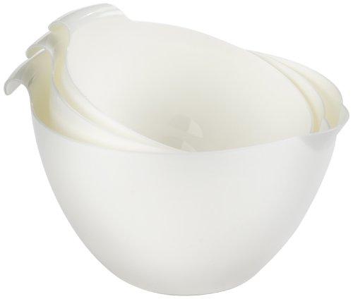 Linden Sweden 3-Piece Mixing Bowl Set White