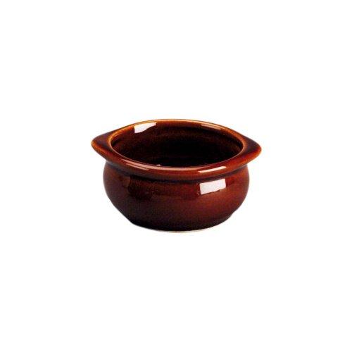 Diversified Ceramics Lennox Brown 15 oz Onion Soup Crock