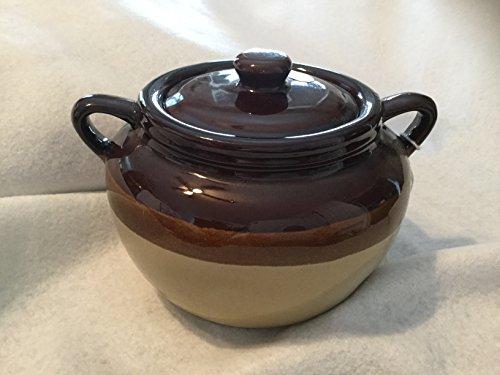 Rustic Soup Crock with Lid Onion Soup Crock Bowl and Lid Stoneware Onion Soup Bowl Bean Pot Stoneware Pot