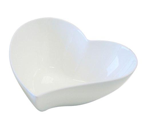 Maxwell Williams White Porcelain Basics Range Heart Shaped Bowl 17cm  675 JX57907