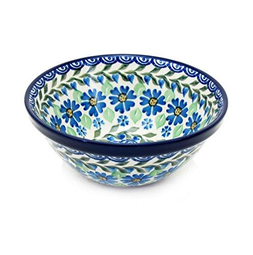Polish Pottery Handmade 55 Old Kitchen Nesting Bowl 059-Daisy Dance