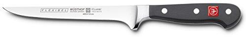 Wusthof 4603 Boning Knife 6 Inch Black
