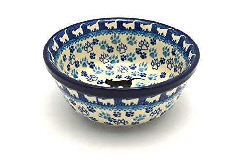 Polish Pottery Bowl - Soup and Salad - Boo Boo Kitty