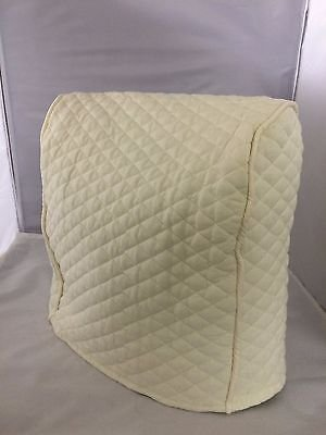 Lift Head Kitchenaid Stand Mixer CoverQuilted Double Faced Cotton - Cream