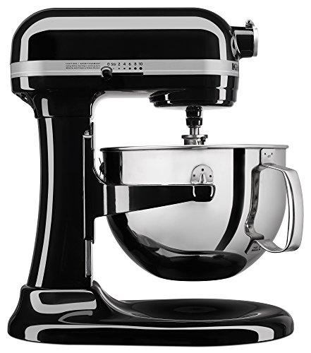 KitchenAid KL26M1XOB Professional 6-Qt Bowl-Lift Stand Mixer - Onyx Black