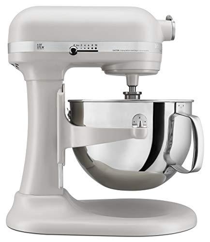 KitchenAid KP26M1XMH 6 Qt Professional 600 Series Bowl-Lift Stand Mixer - Milkshake Color