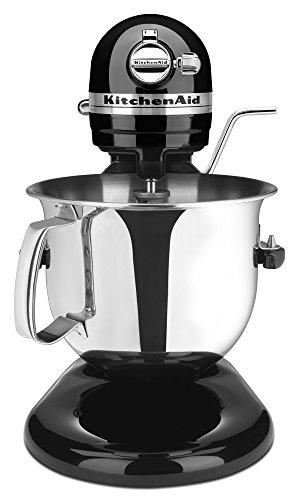 KitchenAid Renewed Bowl-Lift Stand Mixer RKSM6573OB 6-Qt Onyx Black